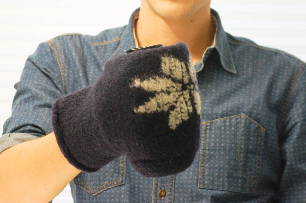 Handschuh für Getränke Handschuh für Getränke Anleitung: Handschuh für Getränke stricken