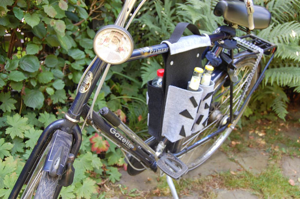 Nähanleitung Fahrradtasche Nähanleitung fahrradtasche Nähanleitung Fahrradtasche für 4 Flaschen