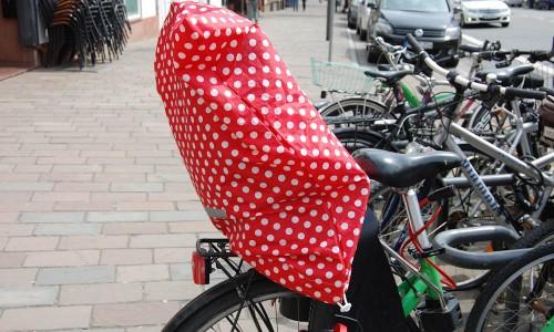 Fahrrad Kindersitzabdeckung  Thema des Monats August 2015: Pimp your bike – Pep dein Fahrrad auf