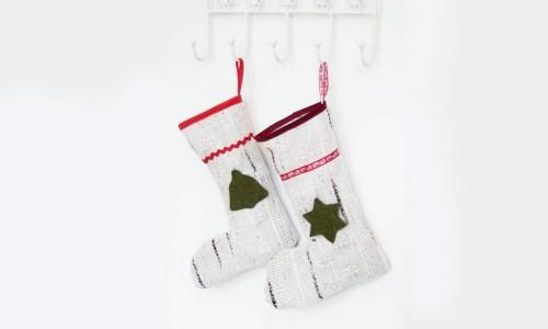 Weihnachtsdekoration selber machen - Nikolausstiefel