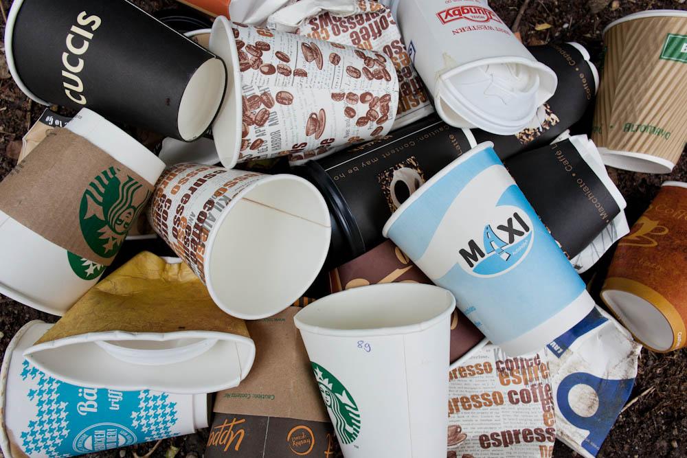 Hülle für Kaffeebecher stricken _ Müllberge hülle für kaffeebecher stricken Anleitung: Hülle für Kaffeebecher stricken