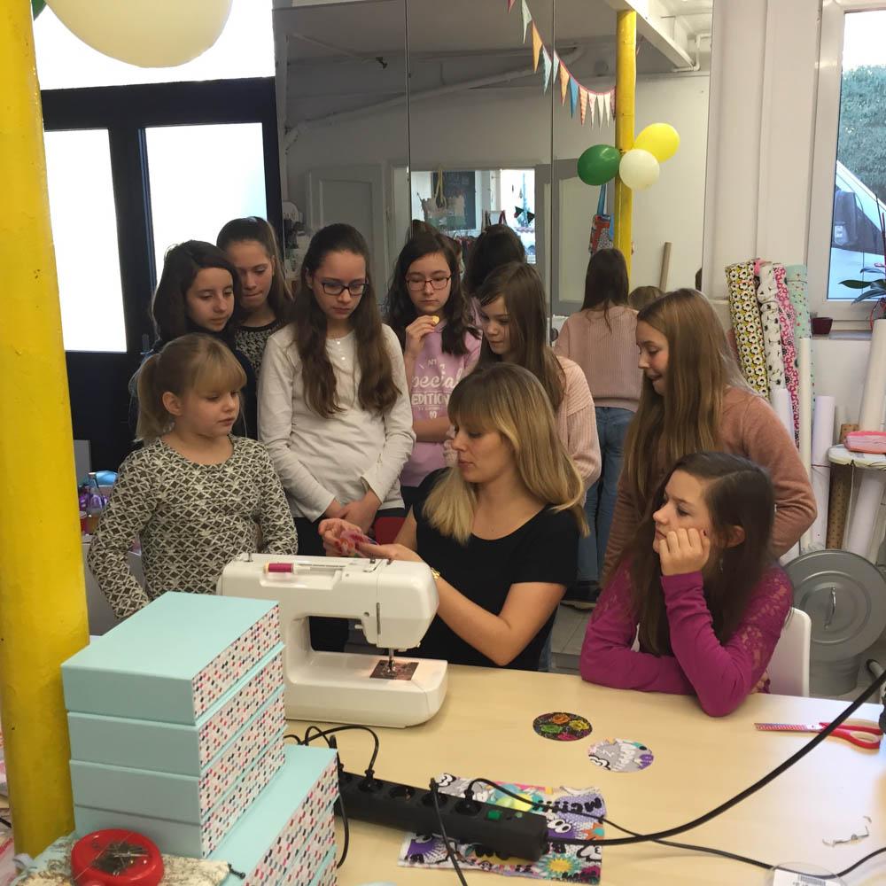 brinarina  brinarina – Nähkurse für Kinder