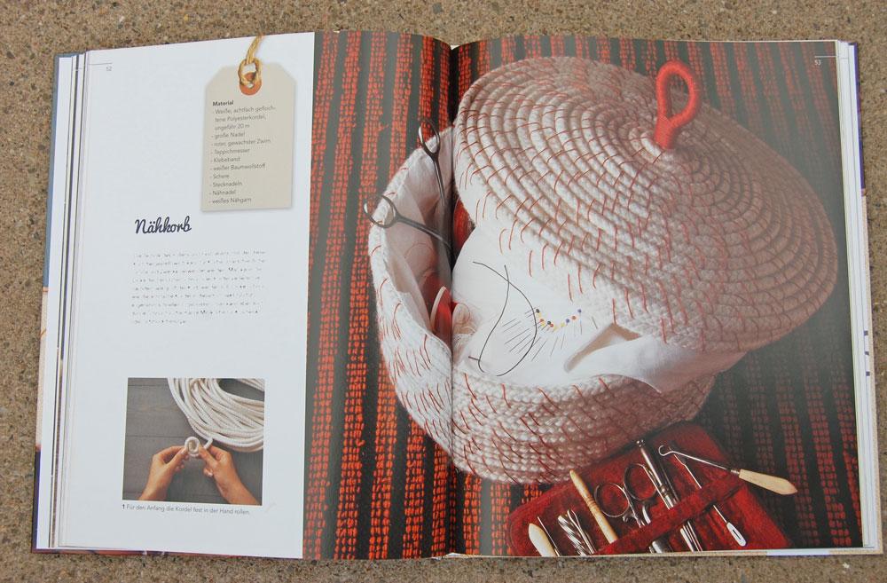 Kreativ mit Kordeln - Nähkorb kreativ mit kordeln Buchbesprechung: <I>Kreativ mit Kordeln</i> von Deena Beverley