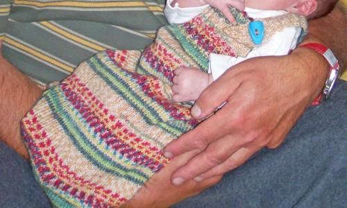 Kinder und Handarbeiten - Pucksack