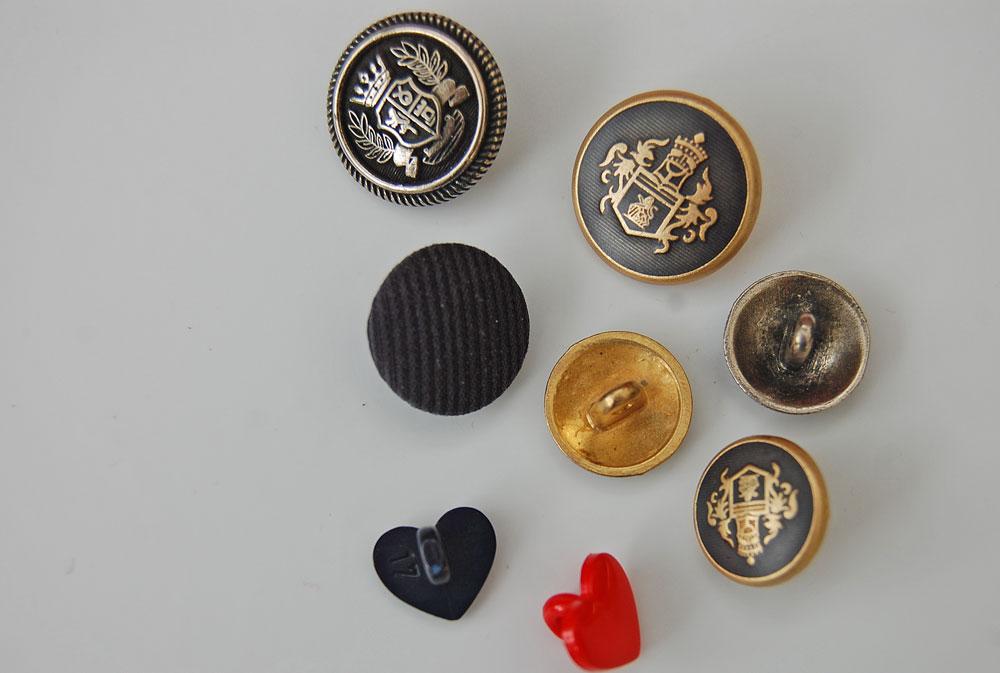 Ösenknöpfe knopf Zugeknöpft - Der Knopf, Verschluss und Dekoration