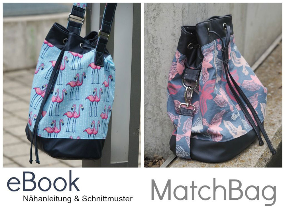 Verlosung - EBook MatchBag - Keko-Kreativ  Verlosung: Taschen EBook <i>MatchBag</i> von Keko-Kreativ