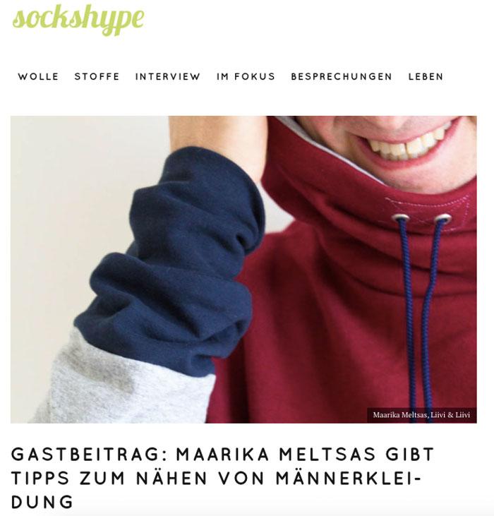 sockshype wird 5 Jahre alt - Beitrag Maarika Meltsas sockshype sockshype wird 5 Jahre alt