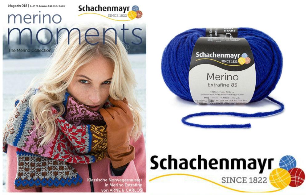 Schachenmayr Merino Arne & Carlos arne & carlos Verlosung: Schachenmayr Magazin Arne & Carlos plus passendes Merino-Garn