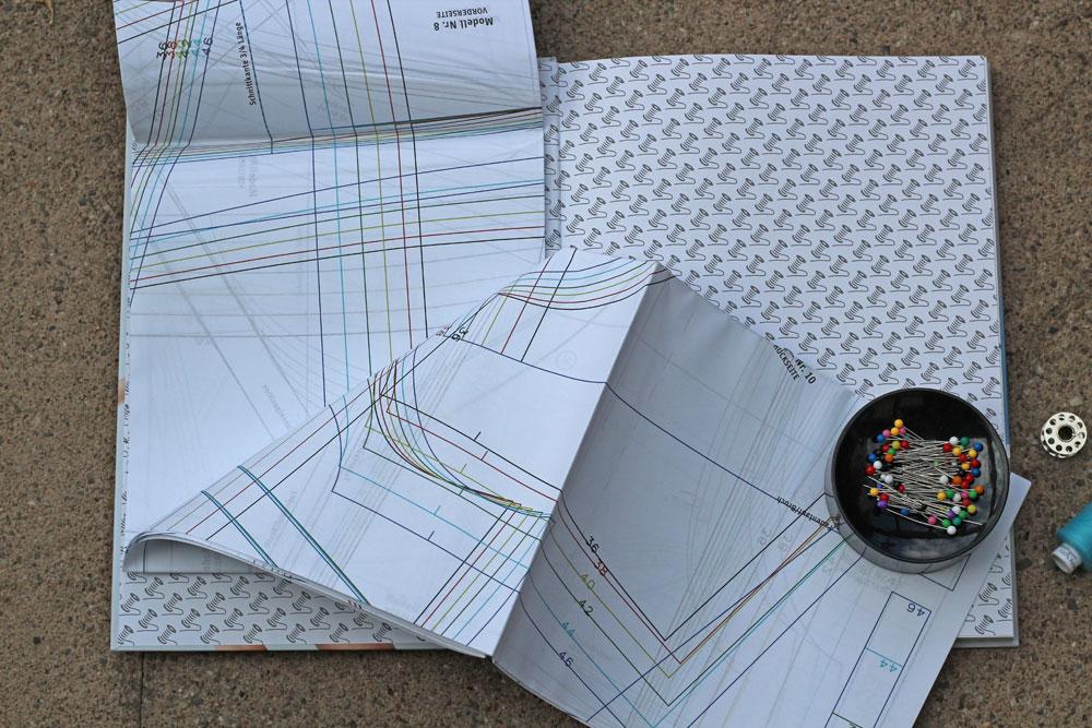 Buchbespechung - Jersey nähen - Schnittmuster  Buchbesprechung - Jersey nähen - Easy Basics von Julia Korff