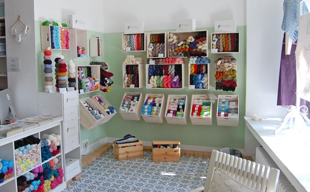 Garn Store - Pascuali-Ecke  Anja Diewald vom <i>Garn Store</i> im Interview