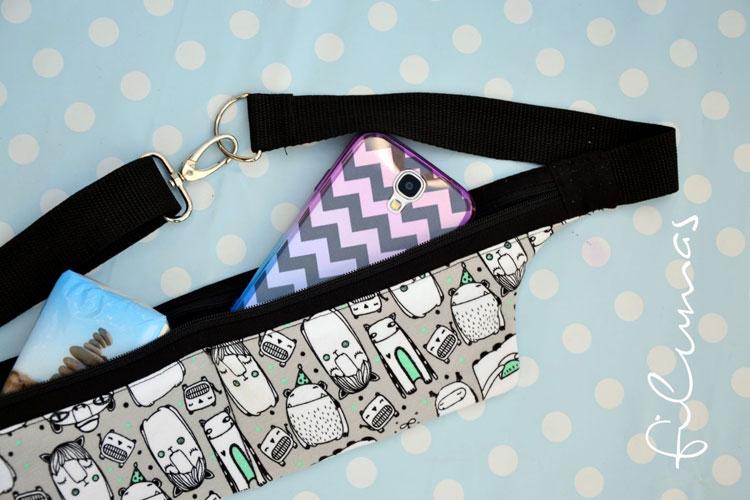 Geschenke nähen - My running belt - Filumas  11 originelle Geschenke nähen mit kostenlosen Anleitungen