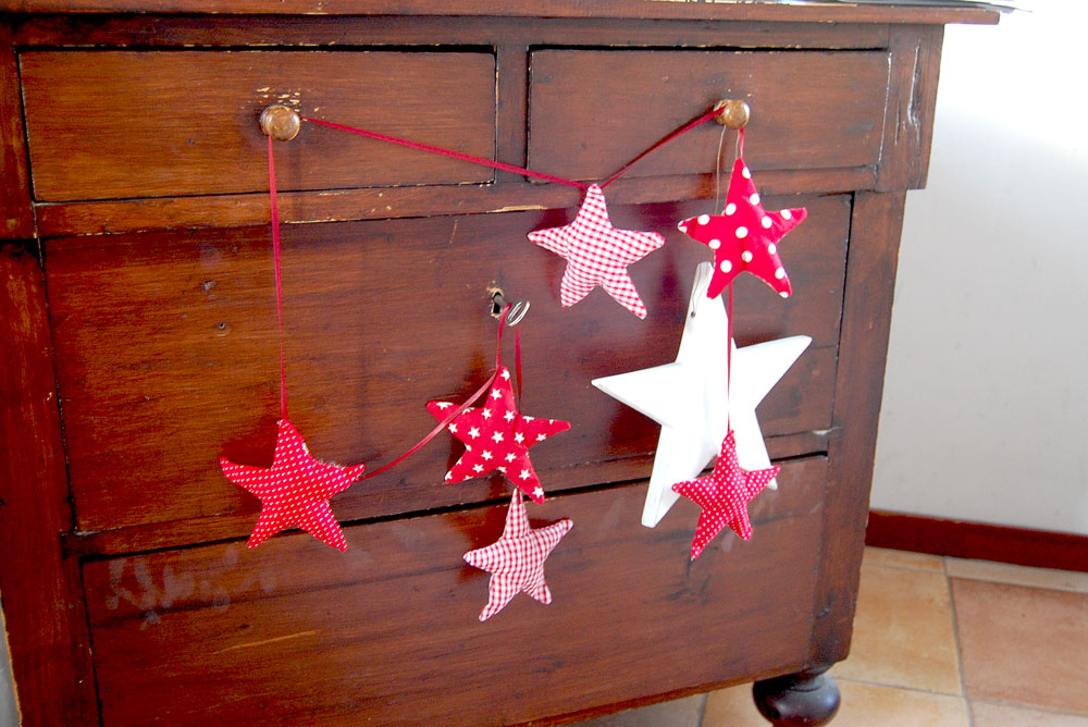Sewing christmas stars  Tutorial: Christmas star sewing pattern