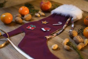 how to sew a christmas stocking easy