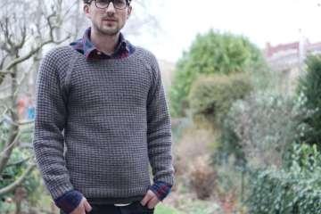 Anleitung: Attraktiven Pullover stricken – in einem Stück