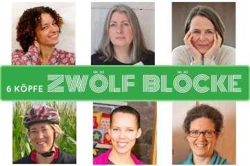 6 Köpfe – zwölf Blöcke - Titelbild  Quilt-Along 6 Köpfe – zwölf Blöcke – ein Interview mit den Organisatoren