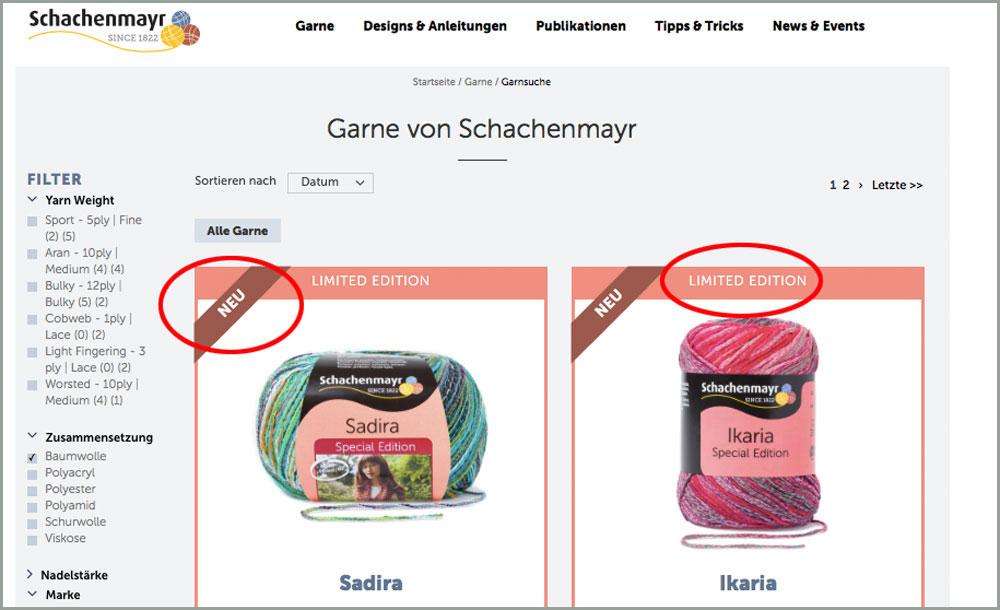 schachenmayr Sabine Mader im Interview über die Neuheiten der Schachenmayr-Webseite