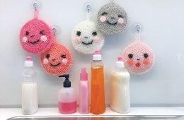 Lustige Spülschwämme häkeln - Creative Bubble Creative Bubble Lustige Spülschwämme häkeln mit Creative Bubble von Rico Design