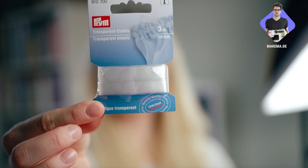 Badeanzug selber nähen: Transparentes Elastikband von Prym  Anleitung: Badeanzug selber nähen (Schnittmuster zum Herunterladen)