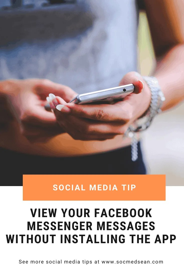 Did you know you can read your Facebook Messenger messages without ever having to install the app? Here's how!
