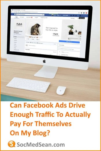 Is there a way for Facebook ads to actually pay for themselves?