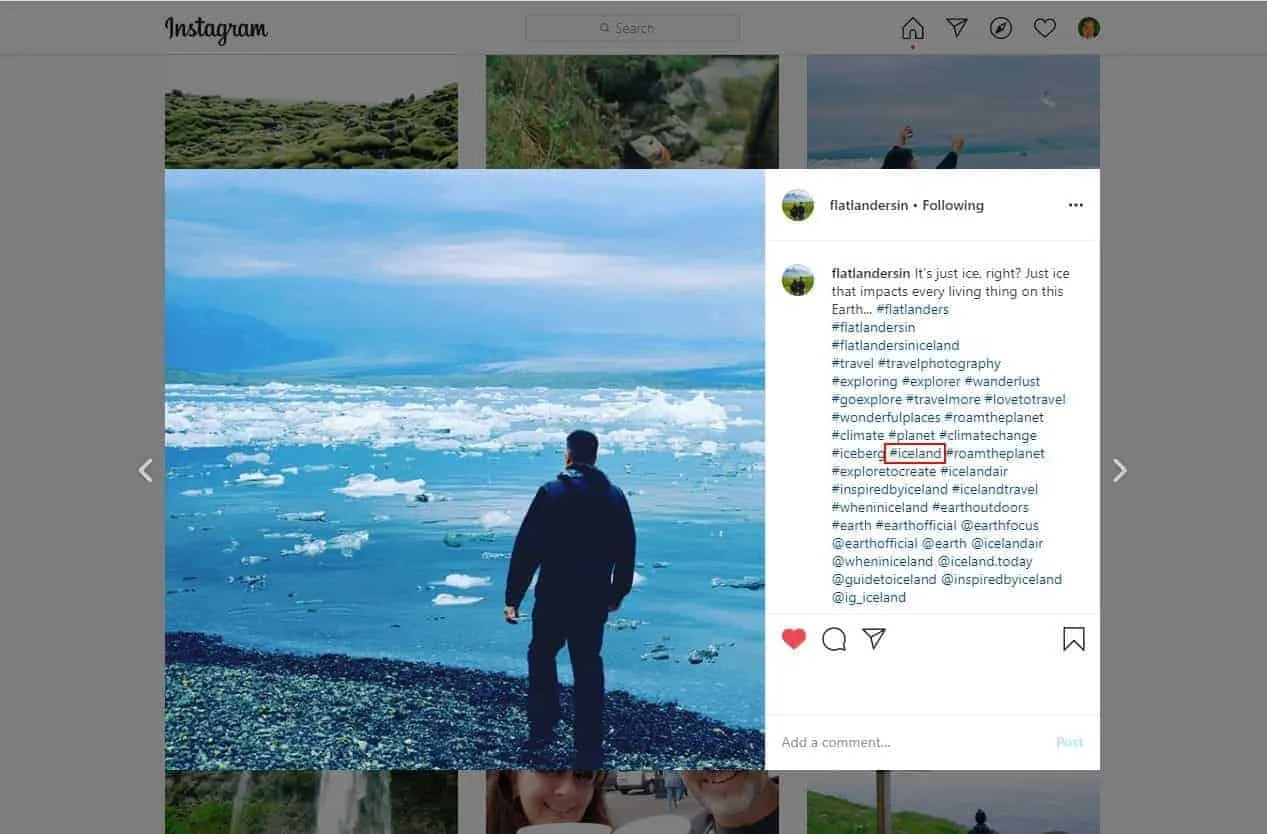 Using the right hashtags on Instagram can help increase your engagement.