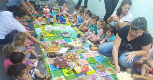 "Creche Municipal ""Professora Filomena Coli Gurgel Barbosa"" celebra a Semana da Criança"