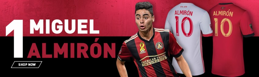 detailed pictures 63fbb 29914 Atlanta, Seattle dominate 2017 top-selling MLS jerseys list ...