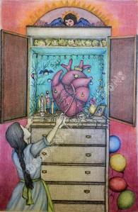 La ofrendita, 42x59,4cm, ink and graphite