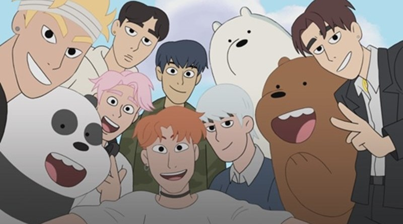 #Série: Monsta X fará uma participação especial na animação Ursos Sem Curso