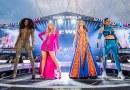 #Moda: Spice Girls brilham em figurinos com cristais Swarovski em turnê mundial
