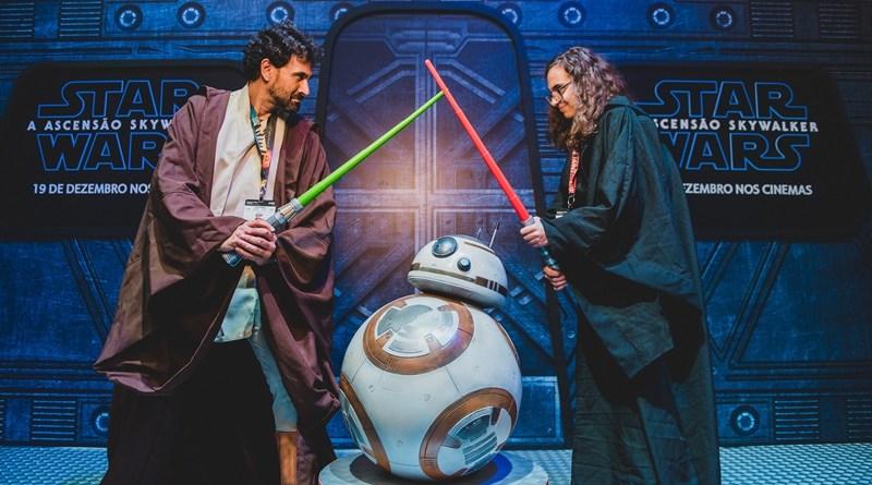 #Evento: Batalha de Jedi faz sucesso no stand da Disney na CCXP 19