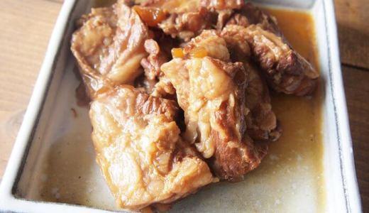 トロトロ!豚軟骨の煮込み。圧力鍋で骨まで柔らかくするレシピ