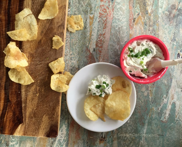 Low Sodium Goat Cheese Dip