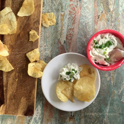 Quick and Creamy Herb Dip