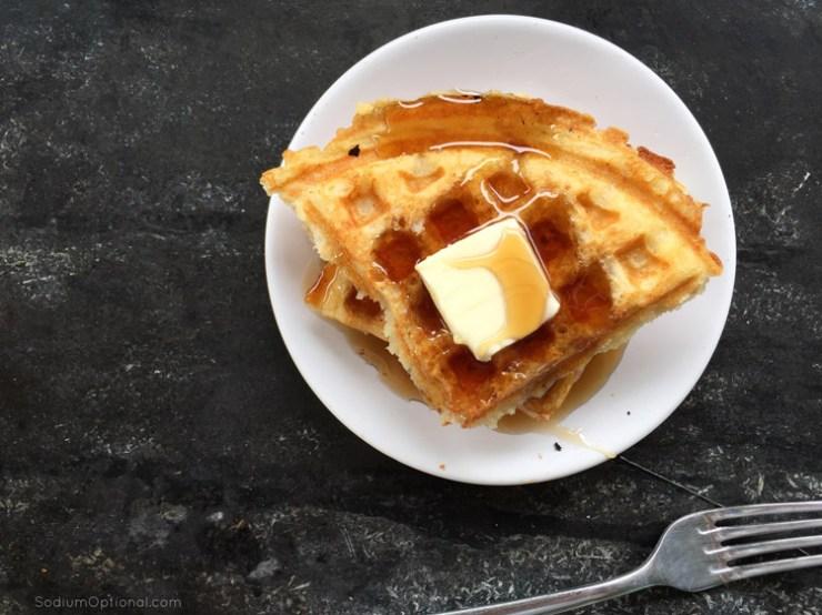 Brown Butter Waffles