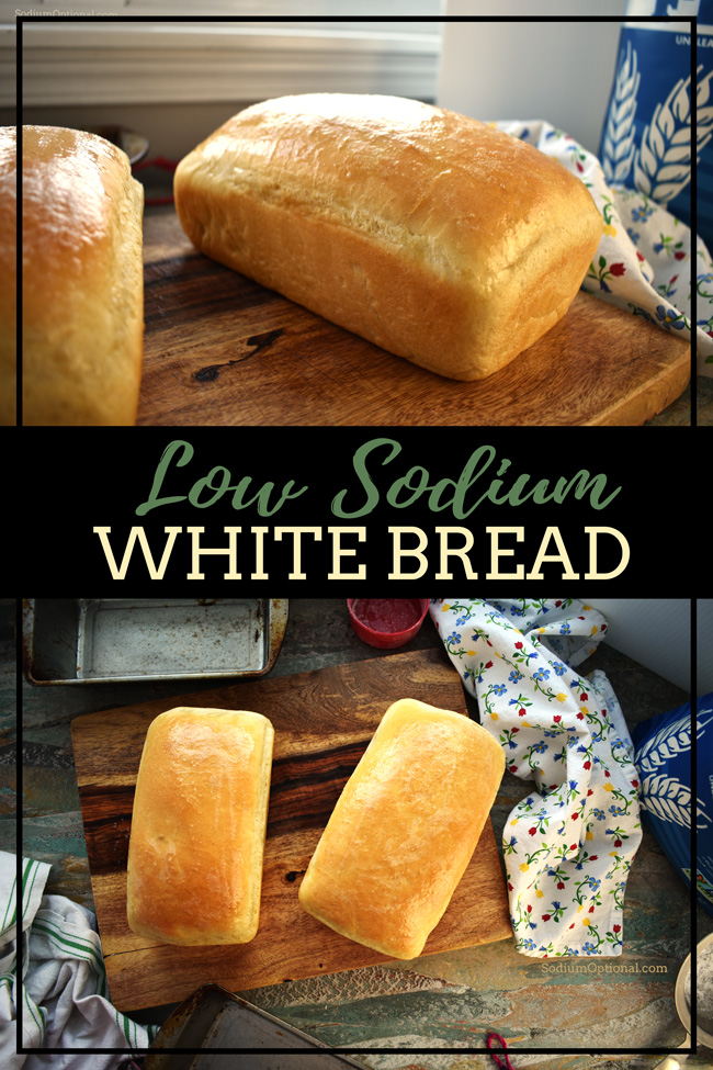 Low Sodium White Bread