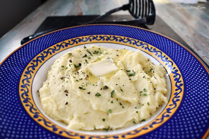 Low sodium Mashed potatoes