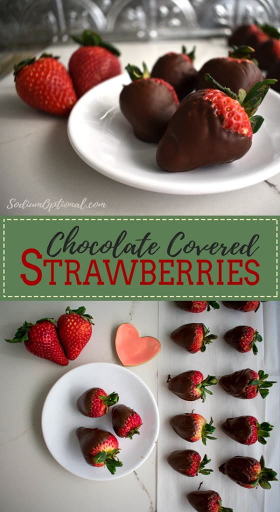 Low Sodium Chocolate Covered Strawberries