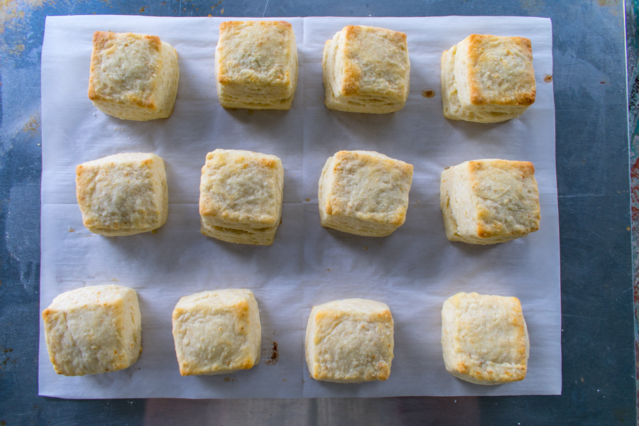 Butter Flakey Biscuits - Low Sodium Recipe