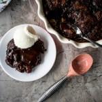 Cinnamon Spiked Hot Fudge Pudding