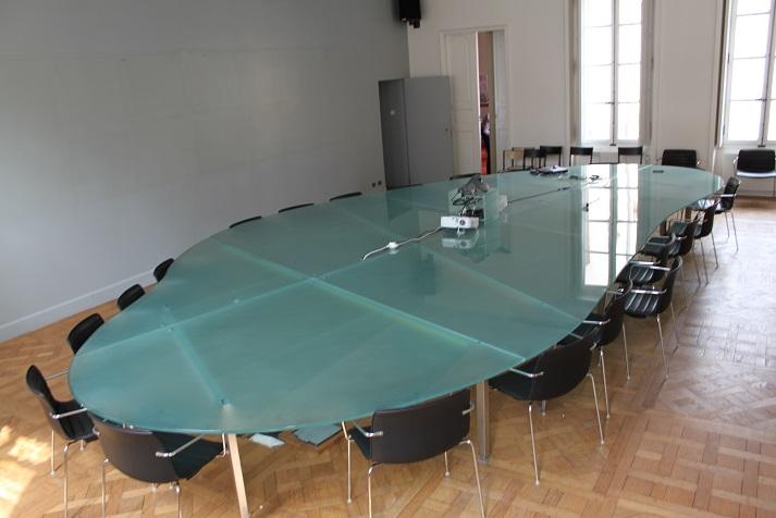 table en verre sur mesure sodiver