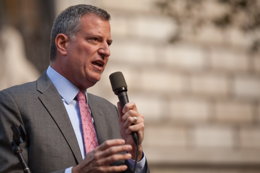 Bill de Blasio, maire de New York City