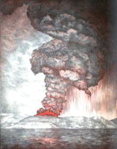 The Eruption of Krakatoa (1883)