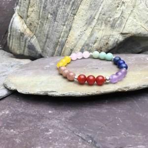 Multi Gemstone Healing Bracelet 7 Chakras