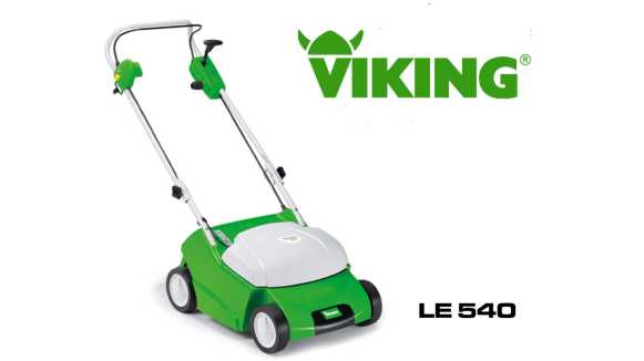 viking le 540 elektro vertikutierer aktionspreis s llner motorger te gmbh. Black Bedroom Furniture Sets. Home Design Ideas