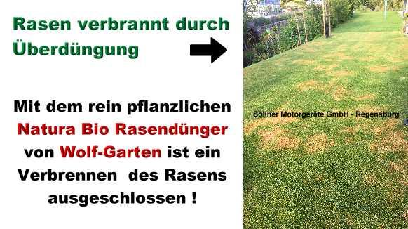 Ihnen Ist Ökologie Wichtig U2013 Dann Ist Der Wolf Garten Natura Bio  Rasendünger Genau Der Richtige Dünger Für Sie !