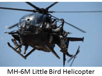 MH-6M Little Bird Special Operations Helicopter
