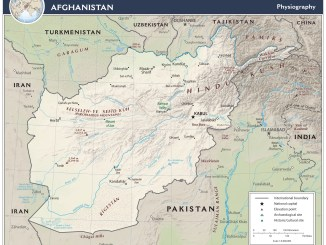 Map of Afghanistan (CIA) - Afghanistan News