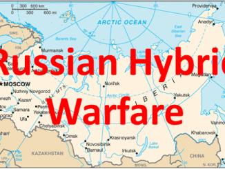 Map - Russian Hybrid Warfare