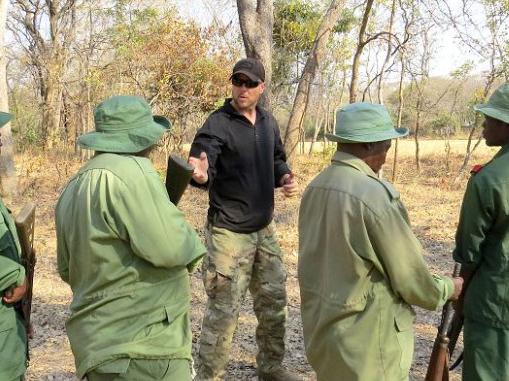Anti-poaching training in Tanzania. Photo by SGT Billy Allen, U.S. Army